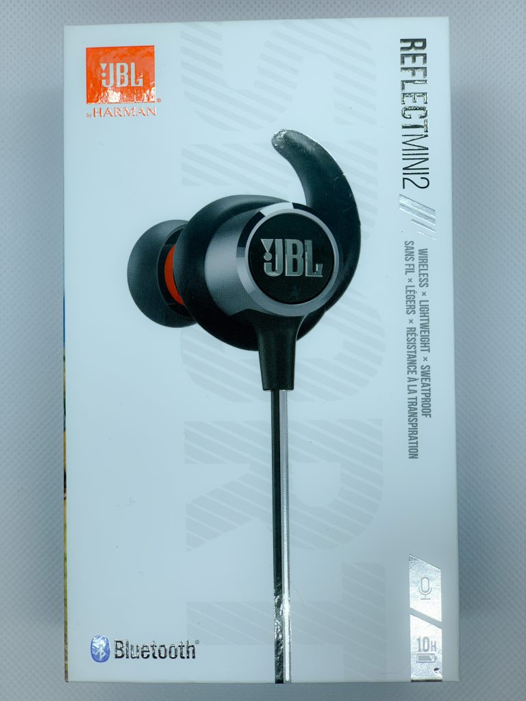 JBL Reflect Mini 2 Test in Verpackung