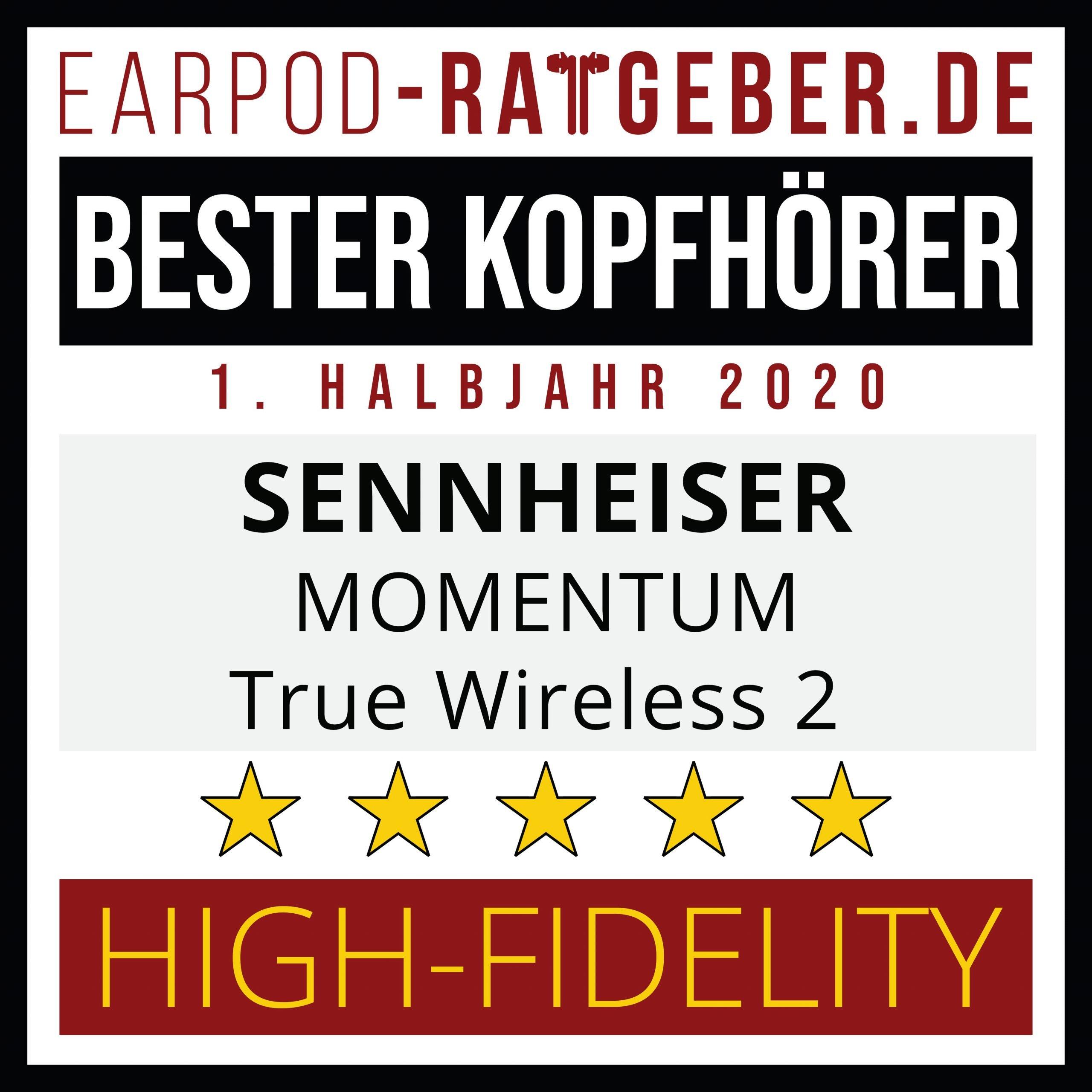 besten true wireless kopfhörer 1. Halbjahr 2020 high fidelity