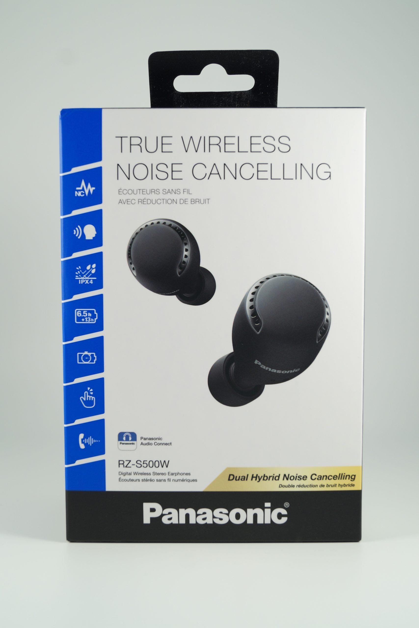 Panasonic RZ-S500W Test Verpackung