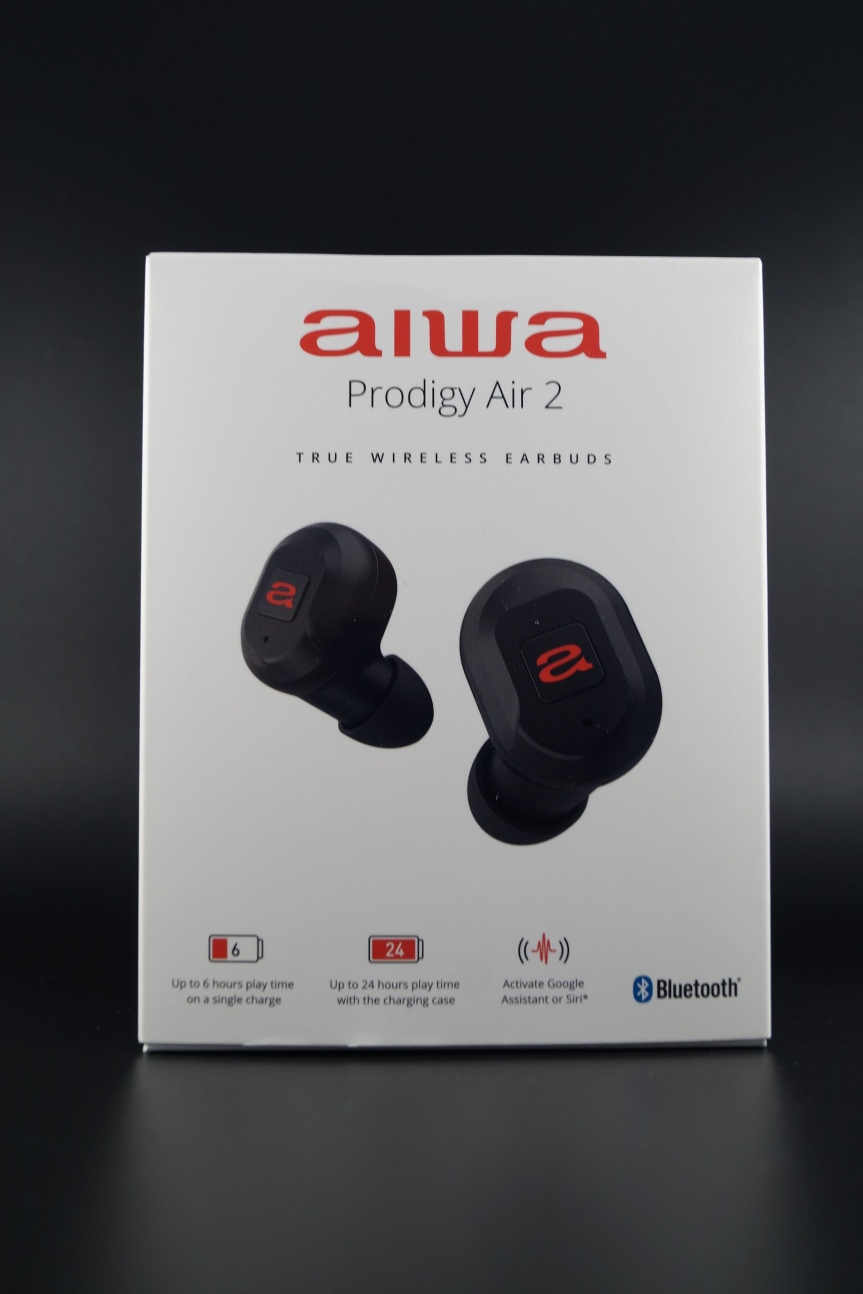 Aiwa Prodigy Air 2 Test Verpackung