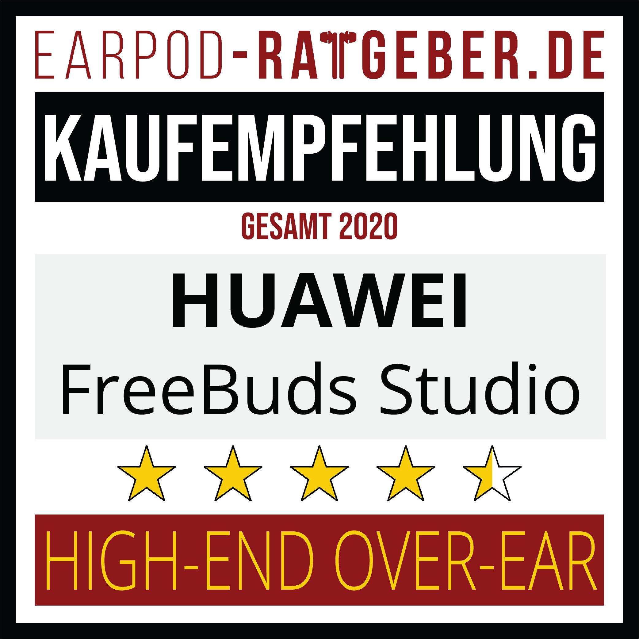 Die besten Kopfhörer 2020 Earpod-Ratgeber.de Awards huawei Empfehlung