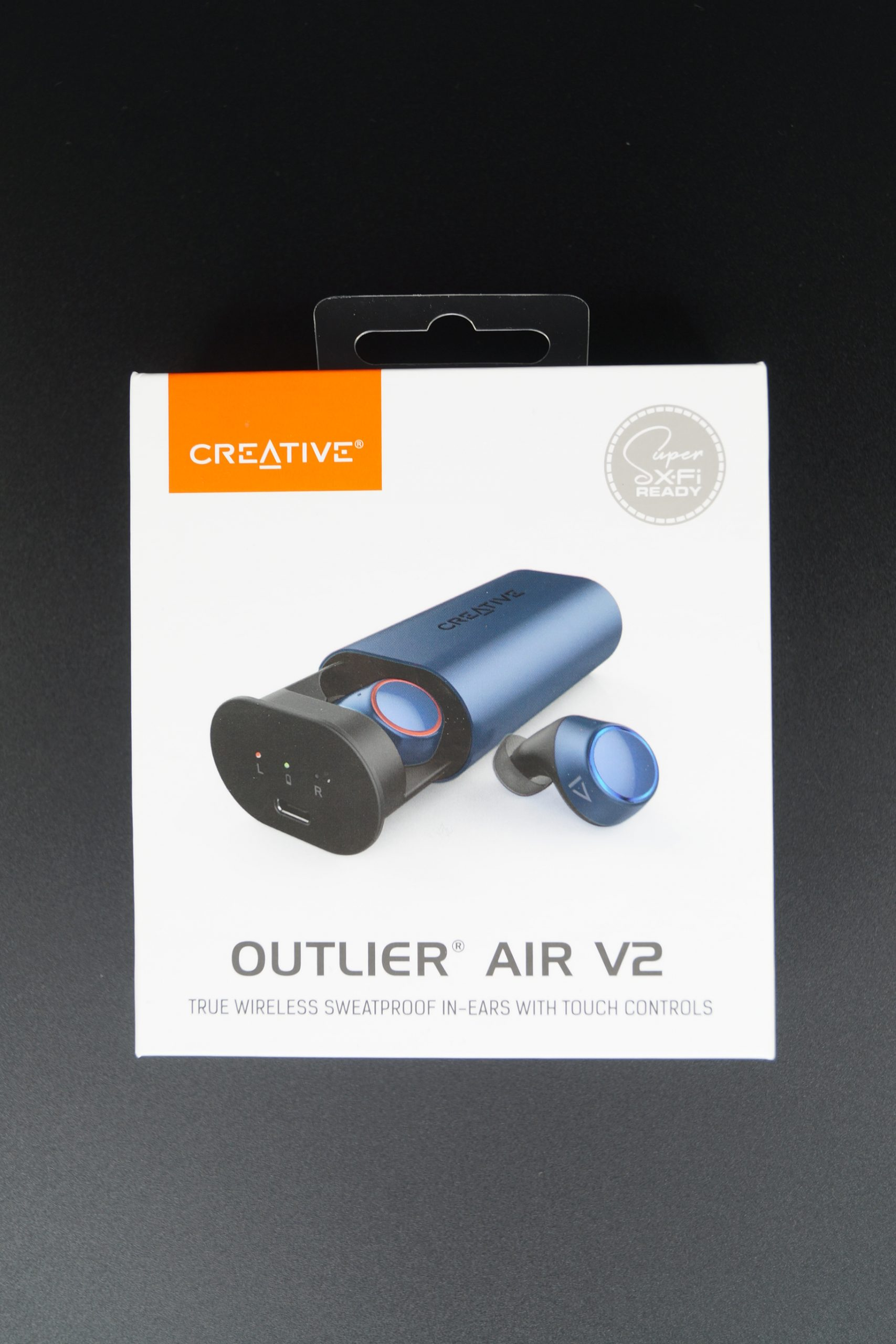 Creative Outlier Air V2 Verpackung