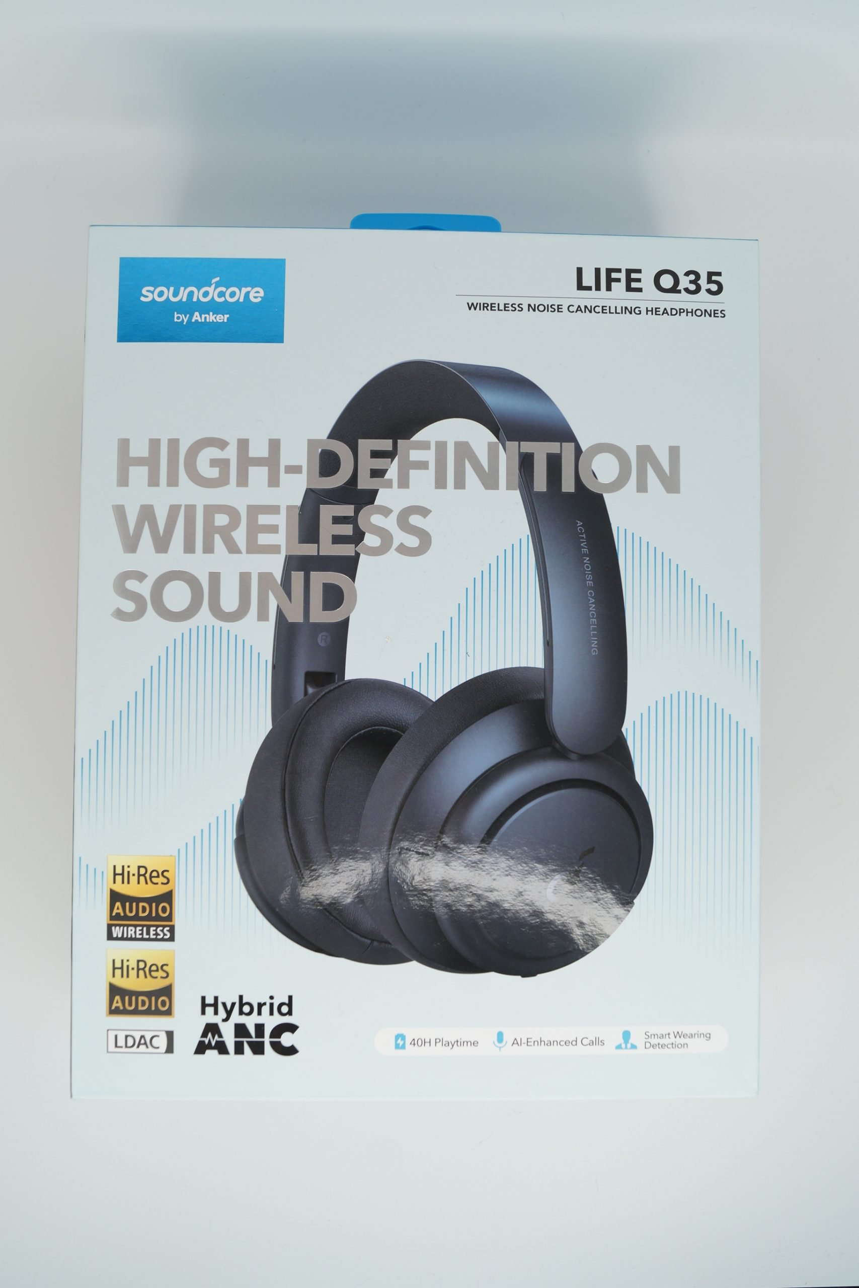 Soundcore Life Q35 Verpackung